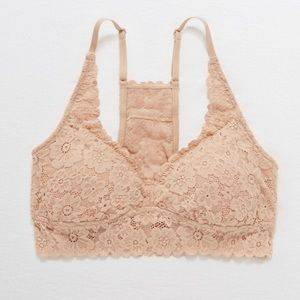 Aerie Softest Lace Padded Bralette